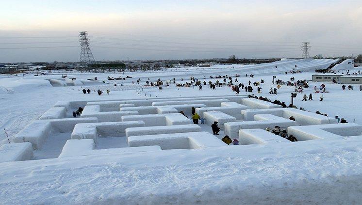 Festival de Neve, Hokkaido, Japão