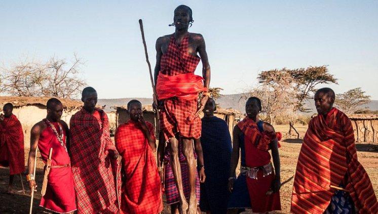 Tribo de Guerreiros - Kenia